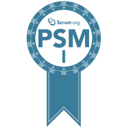 Professional Scrum Master I (PSM I) badge (scrum.org)